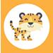 ajandek tarsas egyedi tarsasjatek ikon gyerek 02 tigris 75