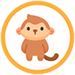 ajandek tarsas egyedi tarsasjatek ikon gyerek 05 majom 75